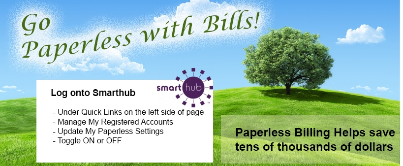 Paperless Bill Banner
