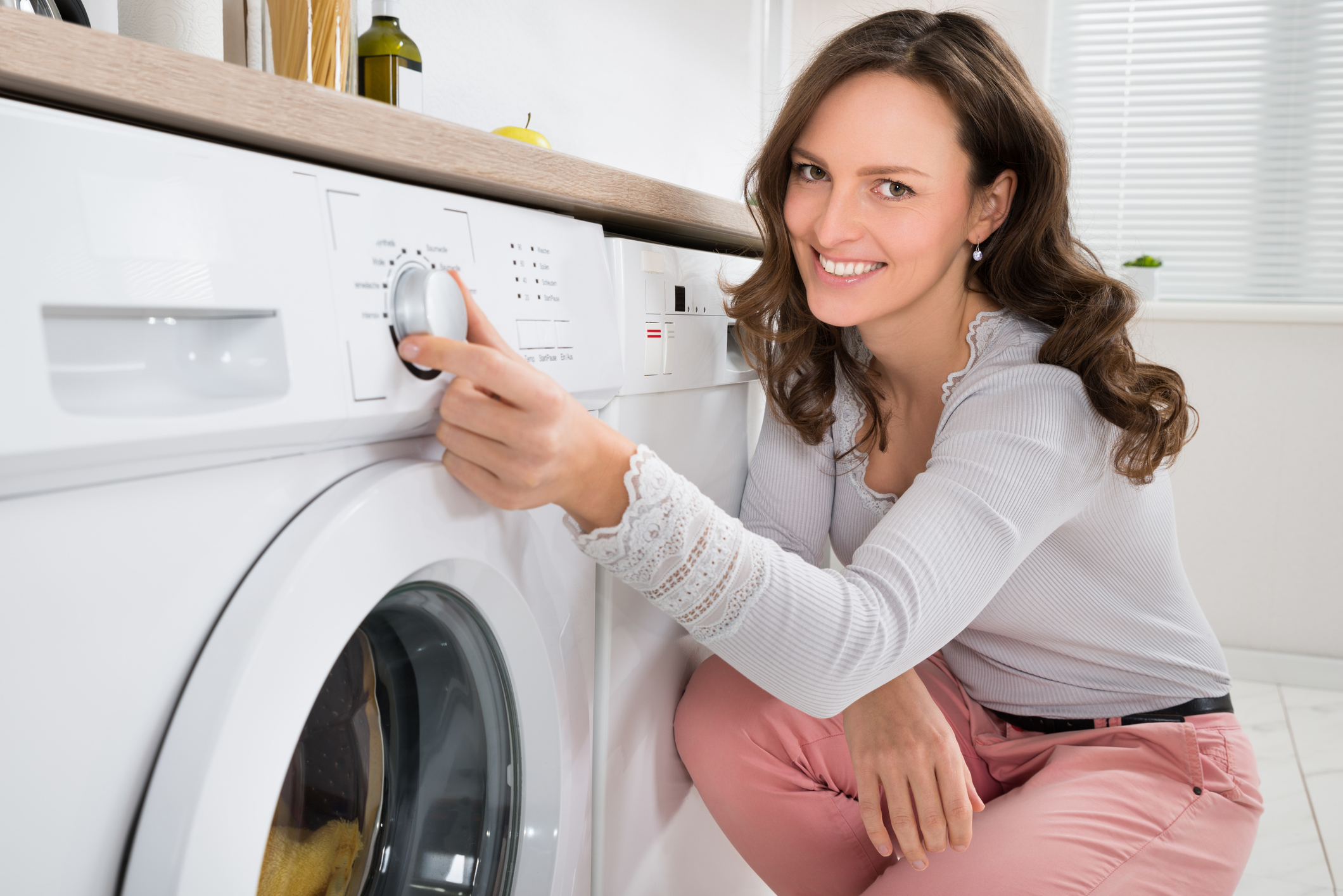 Image of washing machine